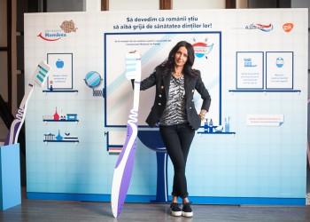 Mihaela Radulescu_Campionatul National de Periaj_Campania Zambeste Romania_