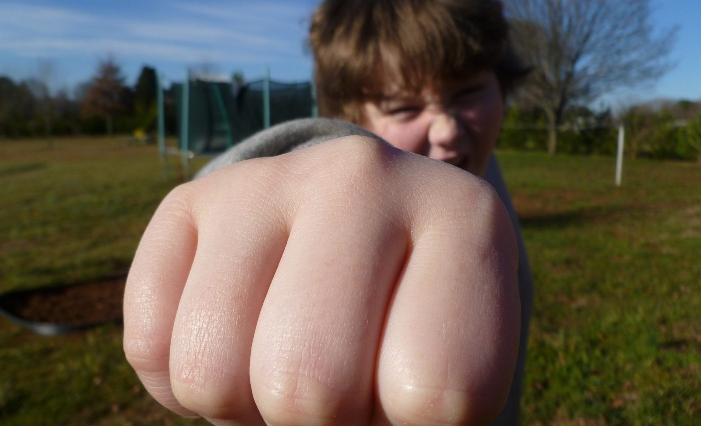 copii agresivi gradinita - sfatulparintilor.ro - pixabay_com - fist-bump-933916_1920