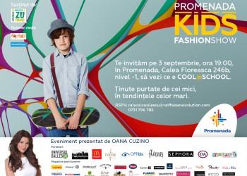 Promenada Kids Fashion Show 3 septembrie2014
