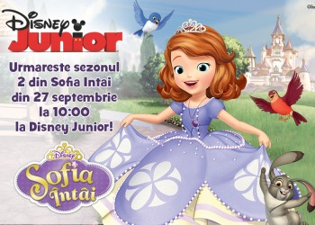 concurs disney junior - sofia intai