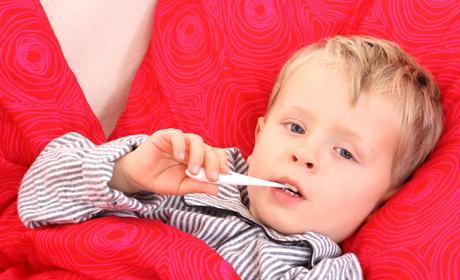 febra copii