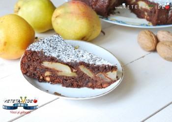 prajitura-cu-pere-ciocolata-nuci-1024x687