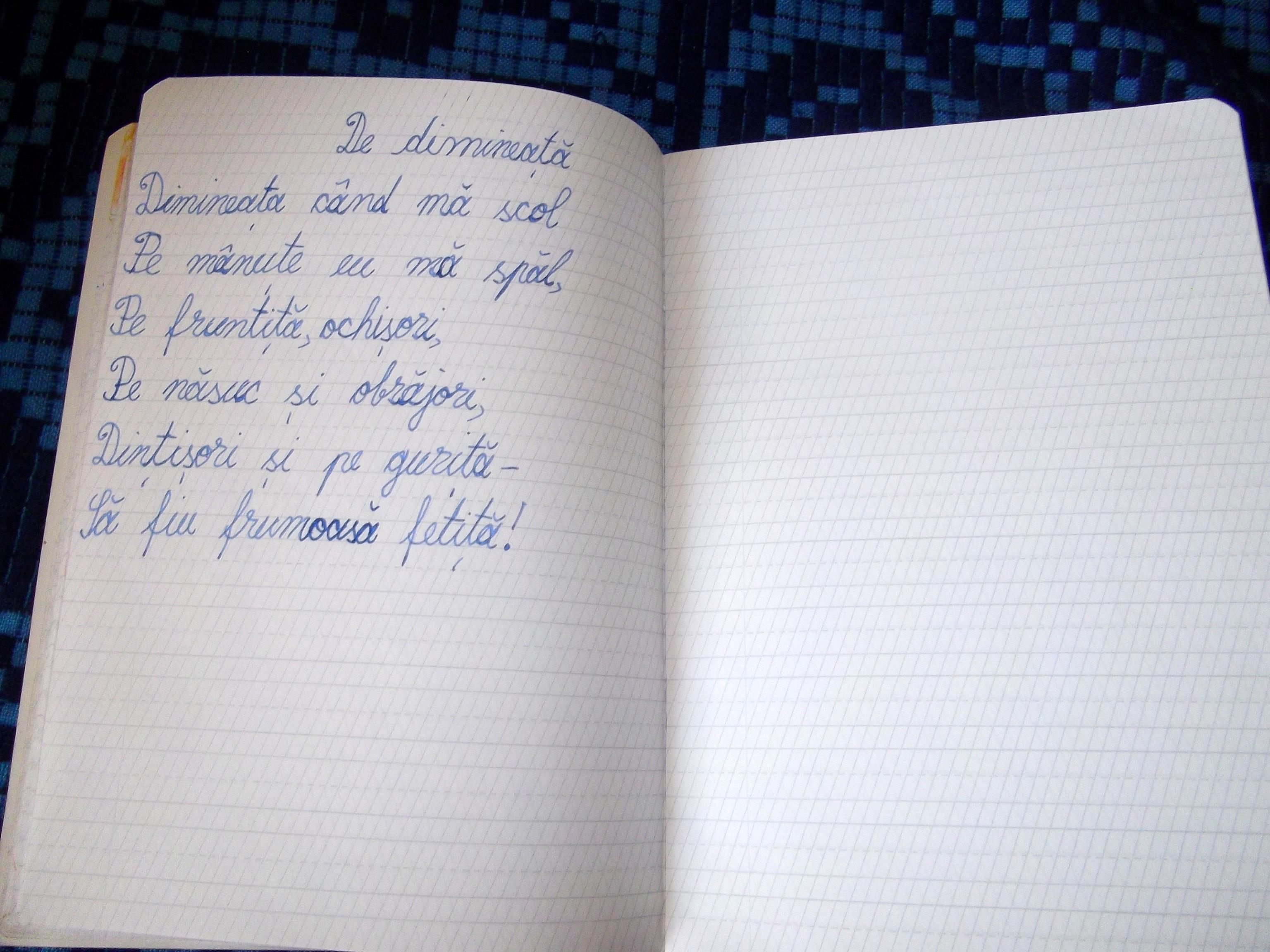 Poezii compuse de copii: De dimineata - Sfatulparintilor.ro