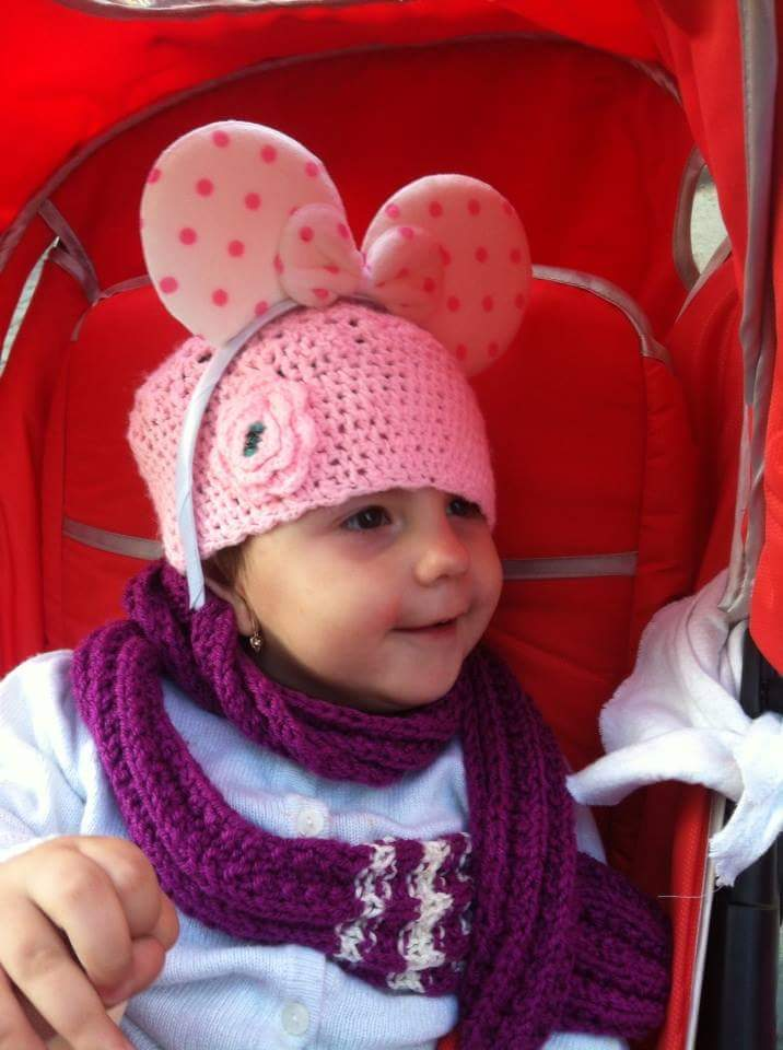 anunt umanitar, Evelina Maria