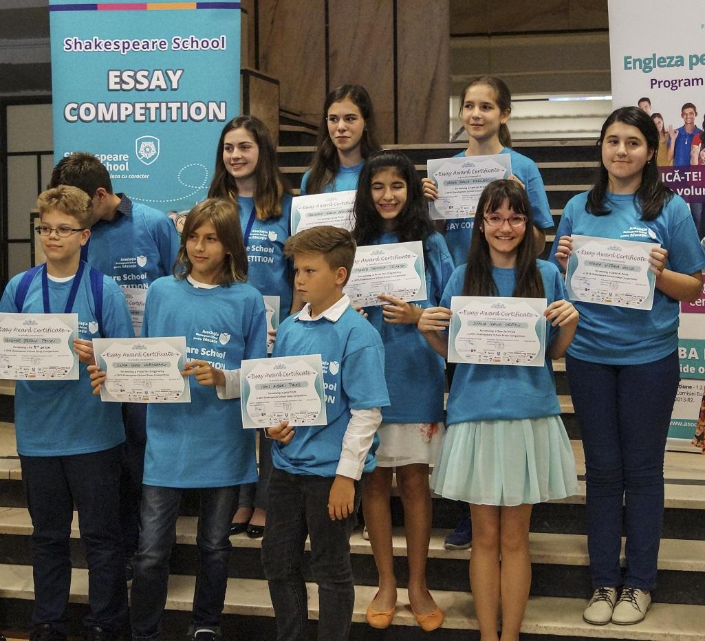 shakespeare school essay competition eseuri castigatoare 2015
