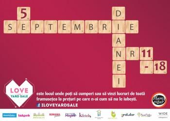 Love Yard Sale 5 septembrie