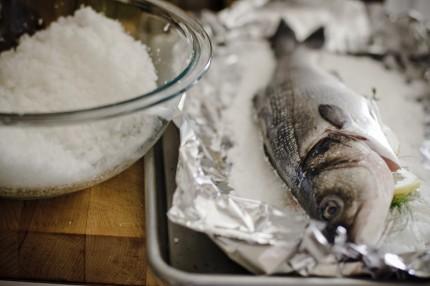 Peste in crusta de sare