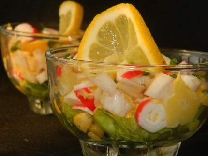 Salata de andive cu surimi