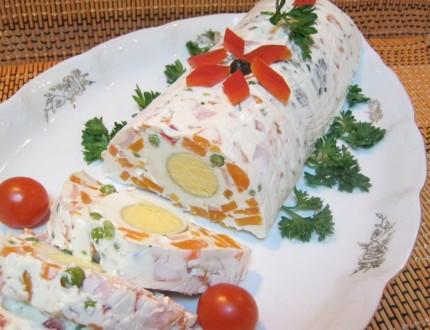 Terina din salata de boeuf