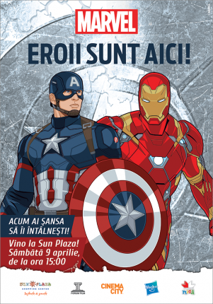 Iron Man si Capitan America