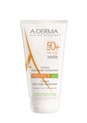 Crema PROTECT AD, SFP 50+ A-DERMA PROTECT, 150 ml -prima cremă solară pentru pielea cu dermatită atopică.PRET 123 lei_