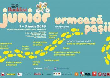 Bookfest Junior 2016 se desfăşoară în acelaşi timp cu Salonul Internaţional de Carte Bookfest, care va avea loc la Romexpo, Bulevardul Mărăşti nr. 65-67 (Piaţa Presei Libere), Pavilioanele C1, C2, C4 şi C5, în perioada 1 iunie şi 5 iunie.