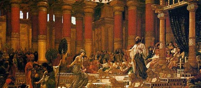 Personajul biblic Solomon, fiul lui David, este recunoscut in istorie ca unul dintre cei mai intelepti oameni. Pilda lui Solomon despre sensul vietii si implinire.