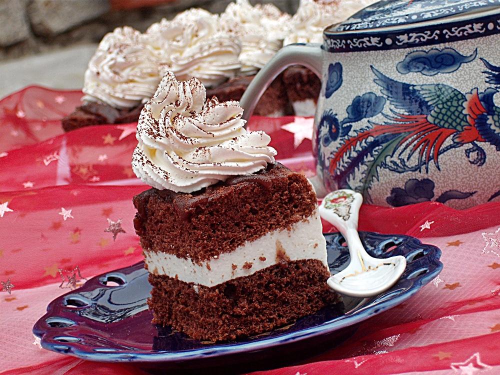 Prajituri de casa - Prajitura Boema cu crema fina de branzica