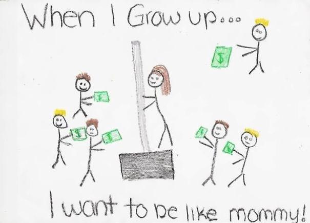 """Una dintre cele mai des folosite intrebari pe care adultii le pun copiilor este: """"Ce vrei sa te faci cand vei fi mare?"""". Raspunsurile pot fi care mai de care mai serioase sau, dimpotriva, mai amuzante."""