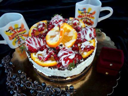 Cheesecake cu mascarpone si Oreo
