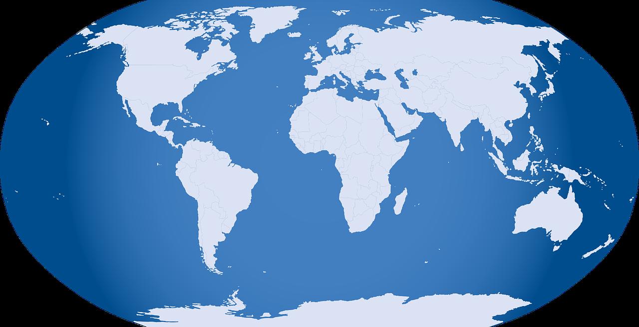 harta lumii - sfatulparintilor.ro - pixabay_com
