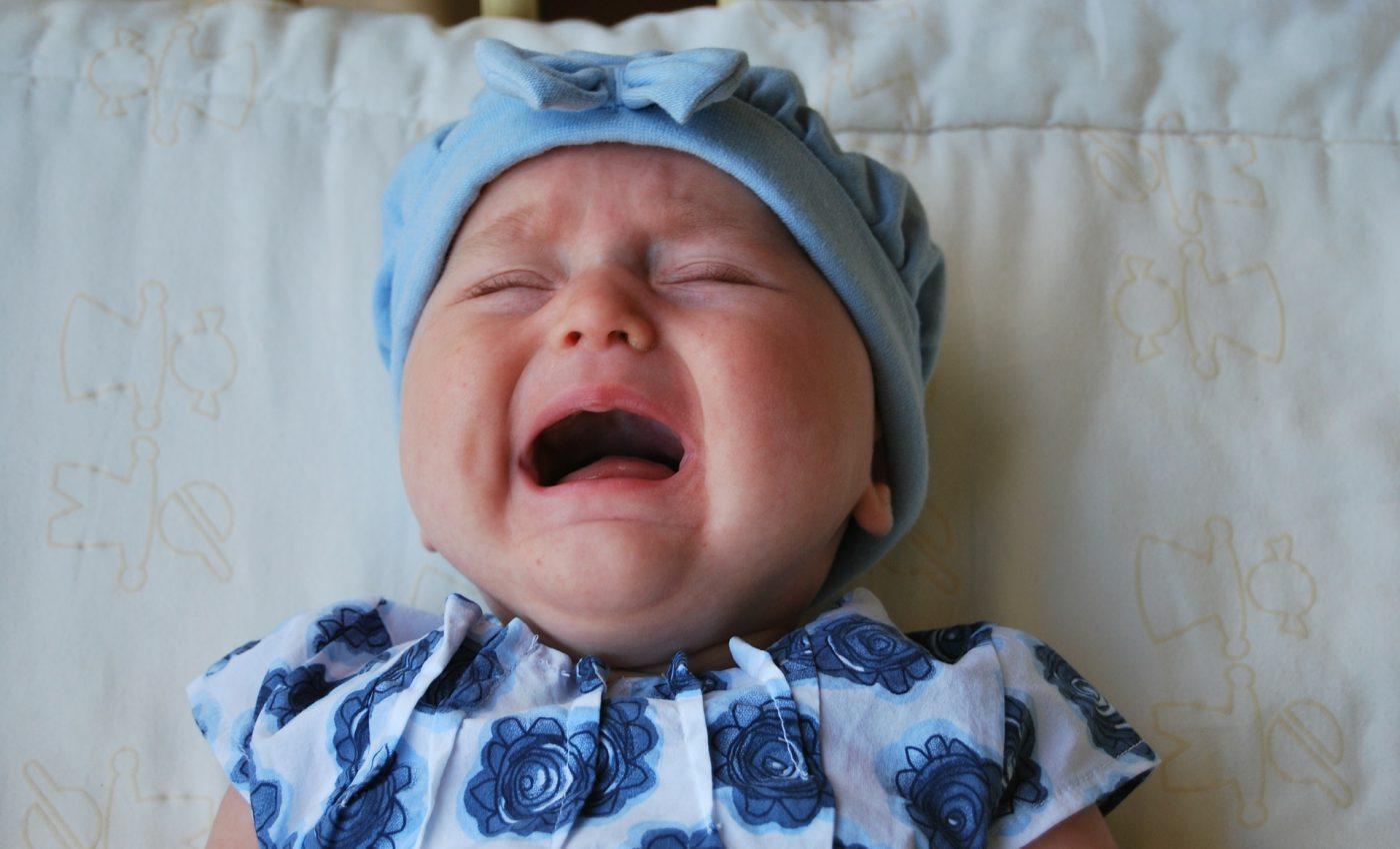 Cum sa calmezi un bebelus agitat