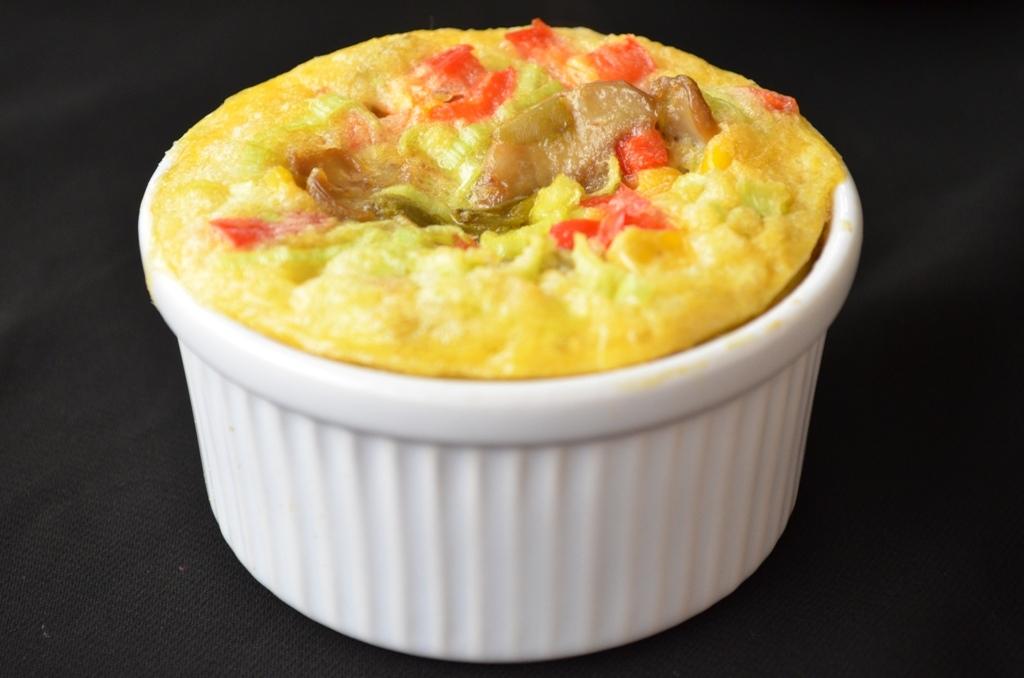 omleta coapta cu legume