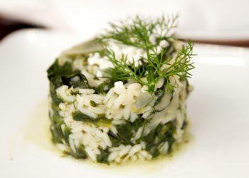 Salata de spanac cu orez