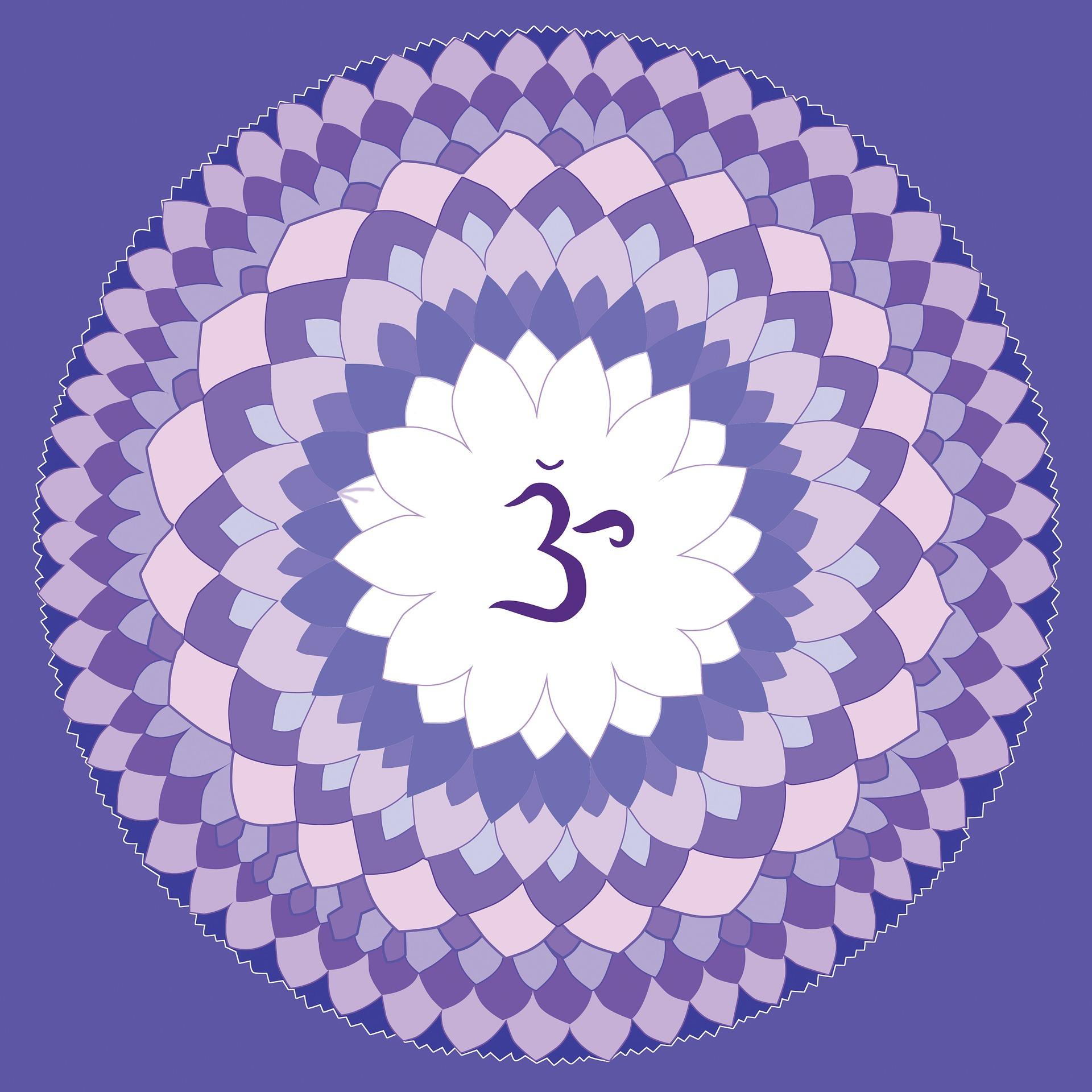 simboluri si semnificatii - lotus - mandala - sfatulparintilor.ro - pixabay_com - violet-1340083_1920