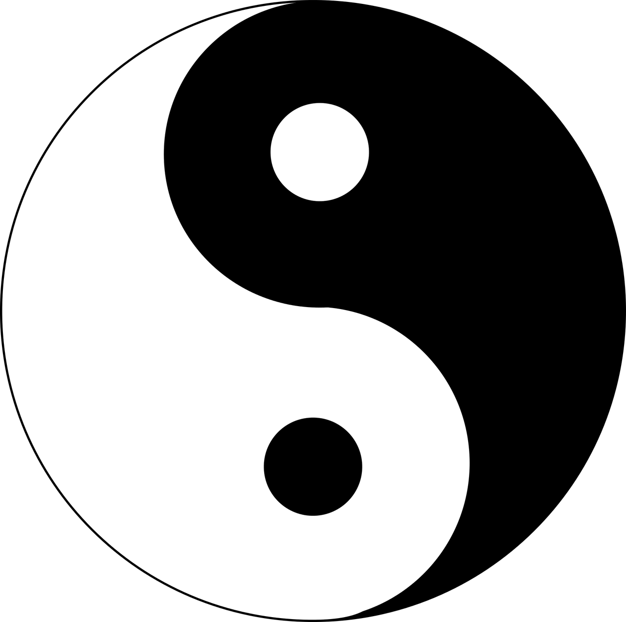 Simboluri si semnificatii 10 simboluri spirituale si for Yin yang raumgestaltung