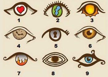 Cum ai ochii? Priveste imaginea de mai sus si alege modelul care se potriveste cel mai bine cu ochii tai. Afla ce dezvaluie ochii despre tine, in functie de modelul ales.