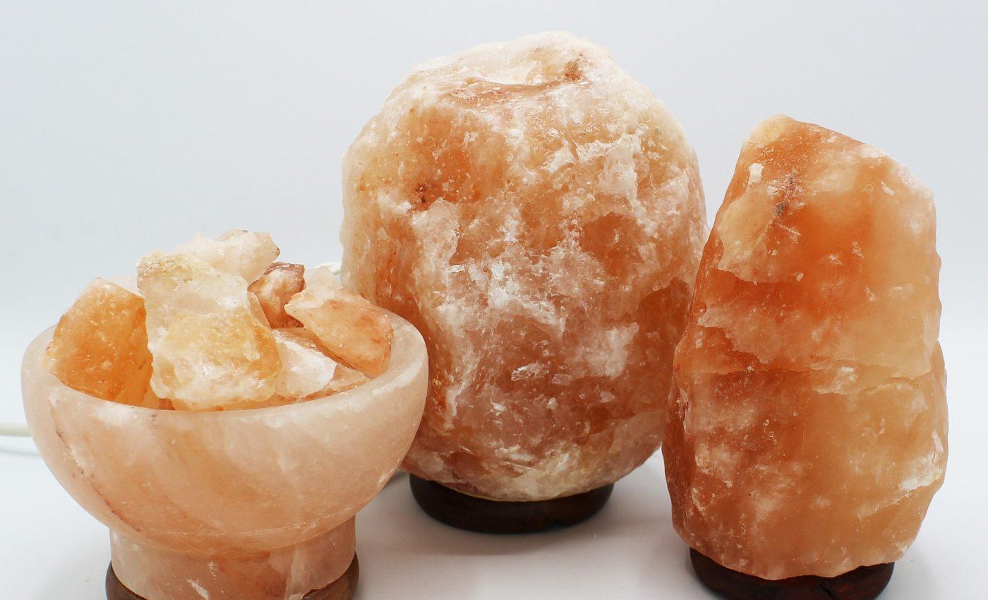 beneficii ale lampii cu sare roz de Himalaya