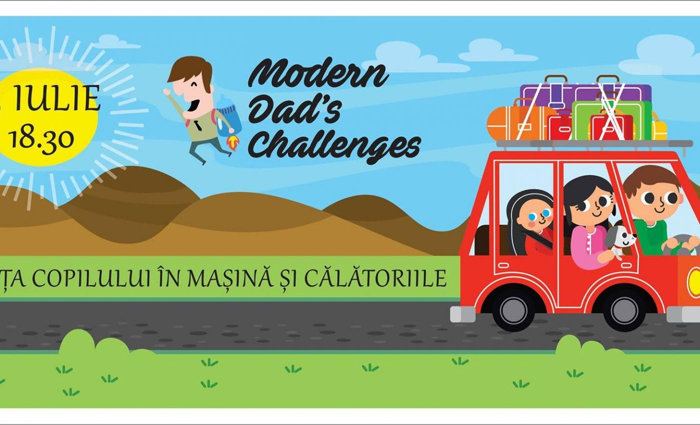 In aceste zile toride de vara ne sta gandul numai la vacanta si concedii, nu-i asa? Inainite sa va bucurati de timpul petrecut in familie si destinatiile alese pentru vacanta, va propunem sa faceti o oprire la cea de-a treia editie a Modern Dad's Challenges.