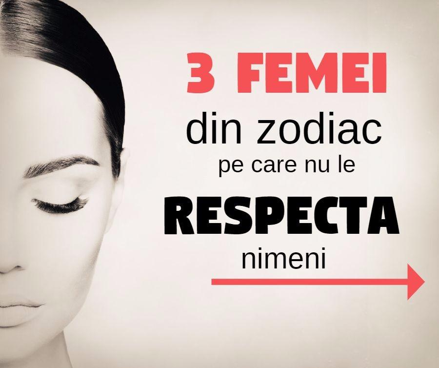 3 femei pe care nu le respecta nimeni