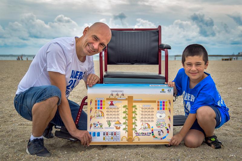 Incepand cu sezonul estival 2018, Constanta va fi primul oras din Europa care va avea o plaja special conceputa pentru persoanele cu dizabilitati.