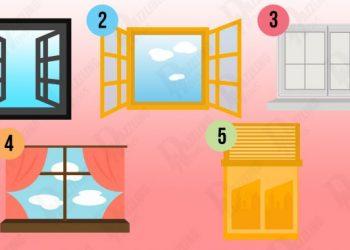 TEST! Ce dezvaluie fereastra aleasa despre personalitatea ta