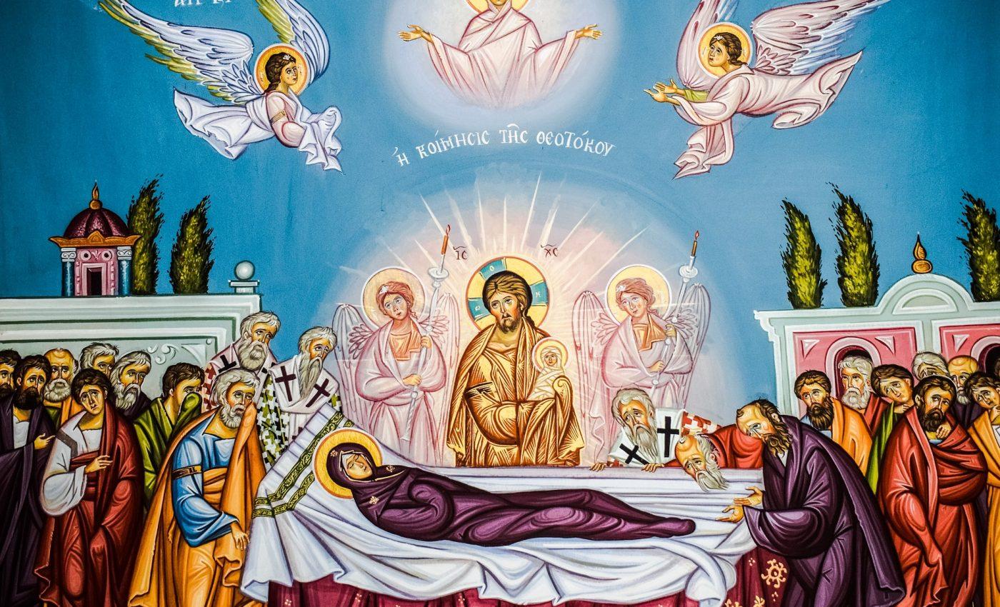 se spune la multi ani de Sfanta Maria Mare-sfatulparintilor.ro - pixabay_com - the-assumption-of-virgin-mary-2191751_1920