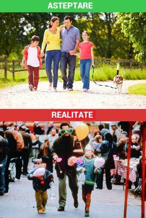 plimbare in familie