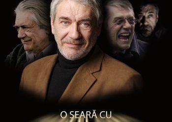 În acest weekend, fanii actorului Marcel Iureș sunt așteptați să-și petreacă seara de sâmbătă în compania acestuia, în cadrul unui eveniment live ce va avea loc la Grand Cinema and more din Băneasa Shopping City.