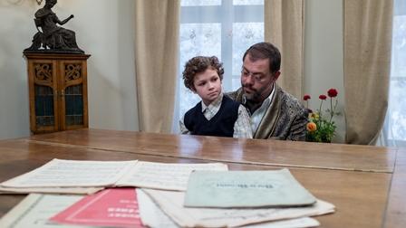 Ioan Andrei Ionescu si Eric Aradits-filmOctav