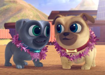 Prietenii Cățeluși, un nou serial animat debutează la Disney Junior, pe 9 octombrie la 17:25. Creat de comediantul Harland Williams, serialul este destinat preșcolarilor și familiilor lor și prezintă povestea a doi frați cățeluși din rasa pug, Bingo și Rolly.