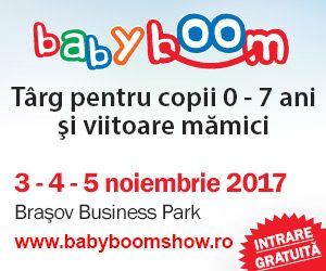Cel mai mare targ pentru parinti si copii cu varste cuprinse intre 0 si 7 ani ajunge in aceasta toamna si la Brasov.