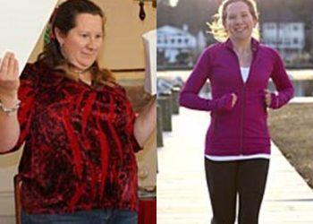 a slabit 46 de kilograme in 8 luni