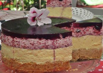 Retete de Sarbatori, Cheesecake cu piure de ananas