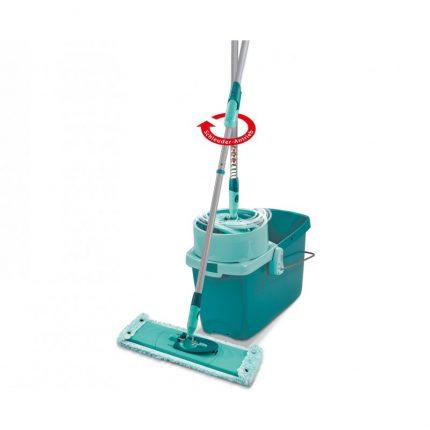 set-curatenie-mop-rotativ-plat-leifheit-clean-twist-system-xl2