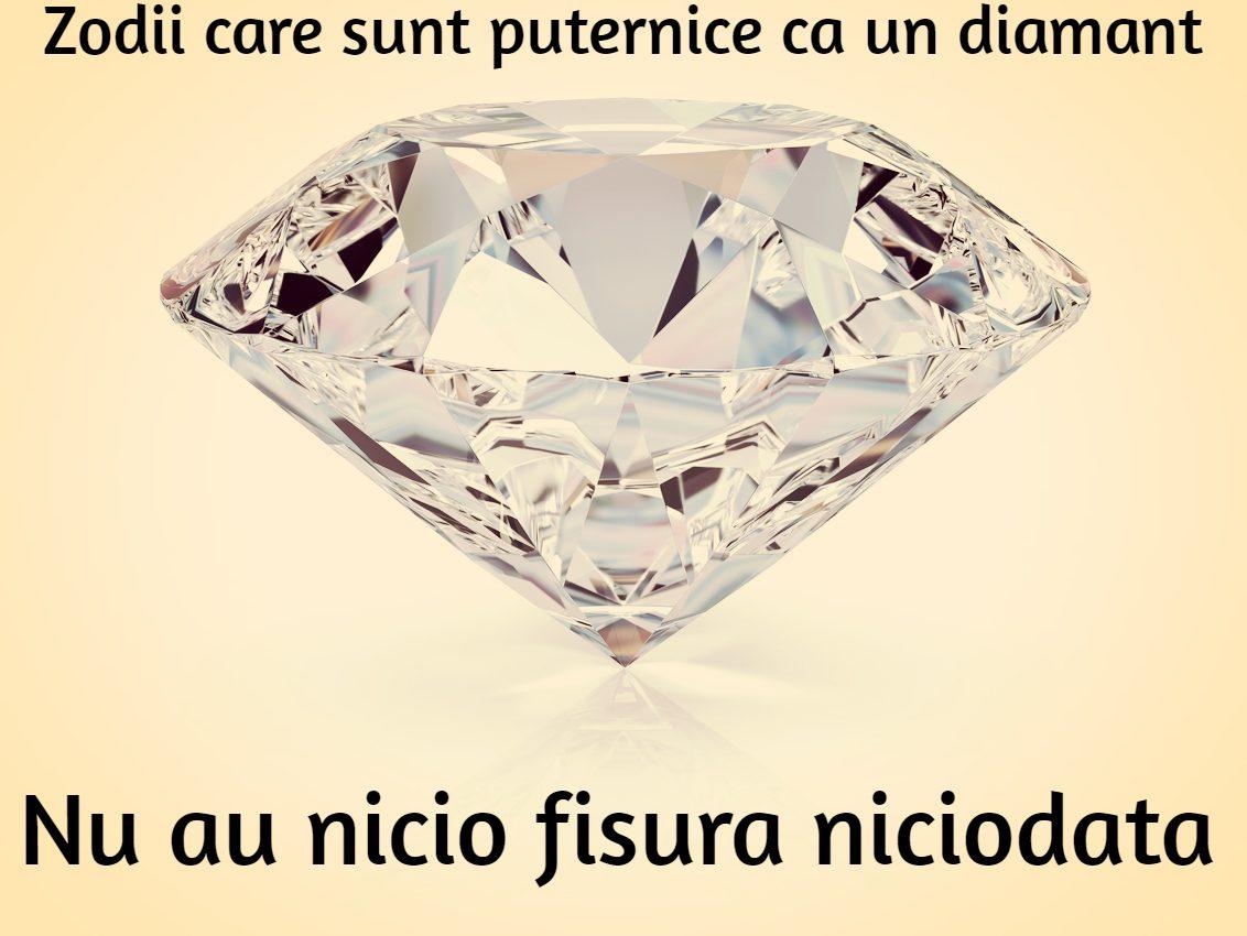 zodii puternice ca un diamant