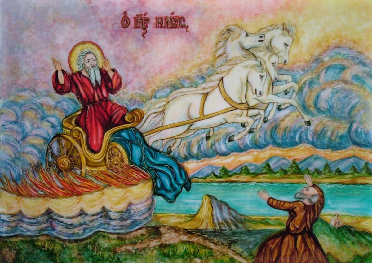 Acatistul Sfantului Ilie Tesviteanul