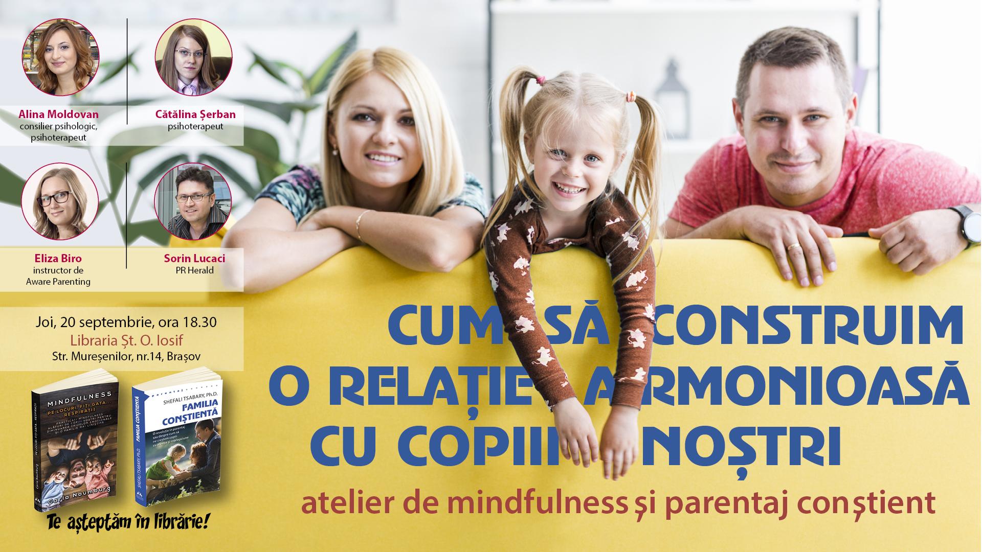 relatie armonioasa cu copiii nostri