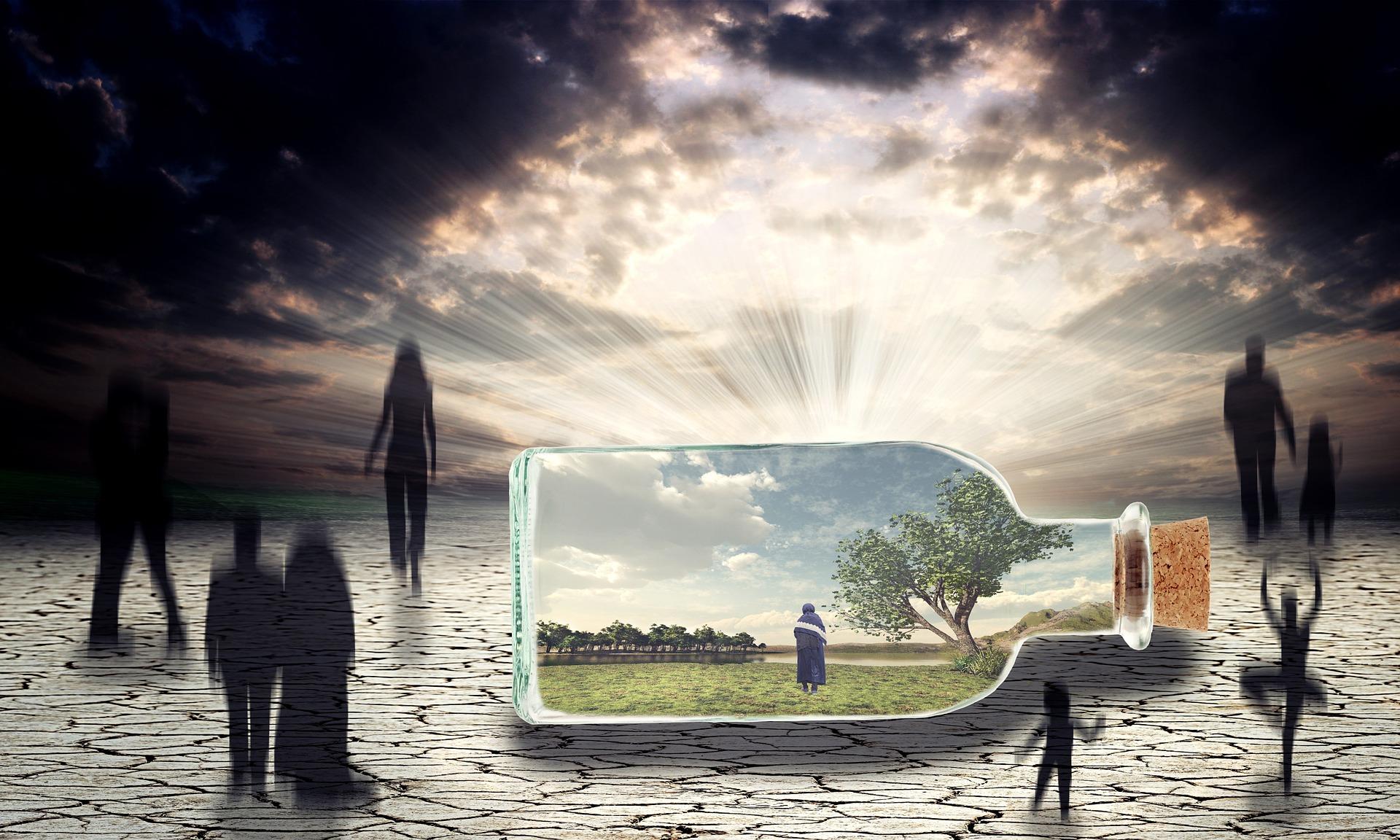gandurile pozitive - sfatulparintilor.ro - pixabay_com - dementia-1528625_1920