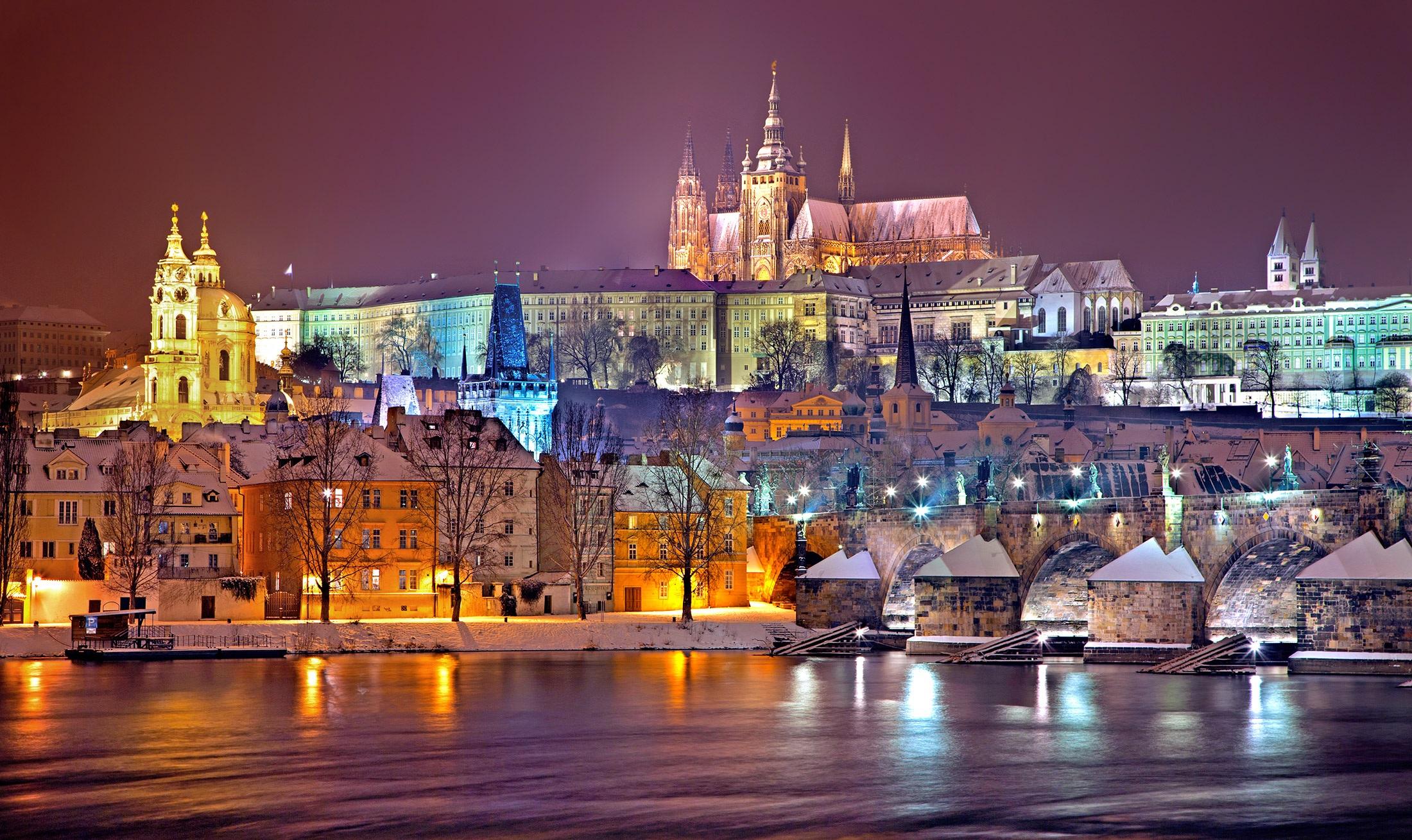 orase europene iarna