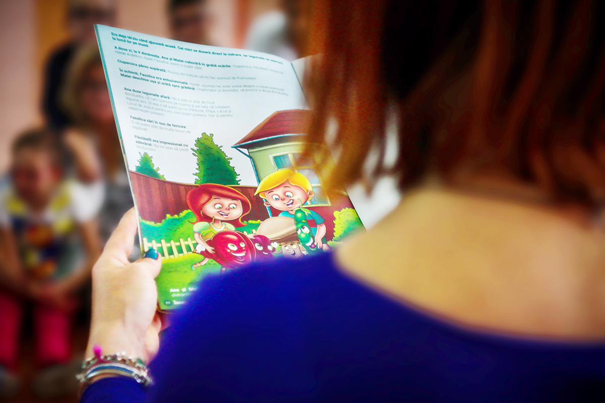 audiobook dedicat copiilor cu deficiențe de vedere