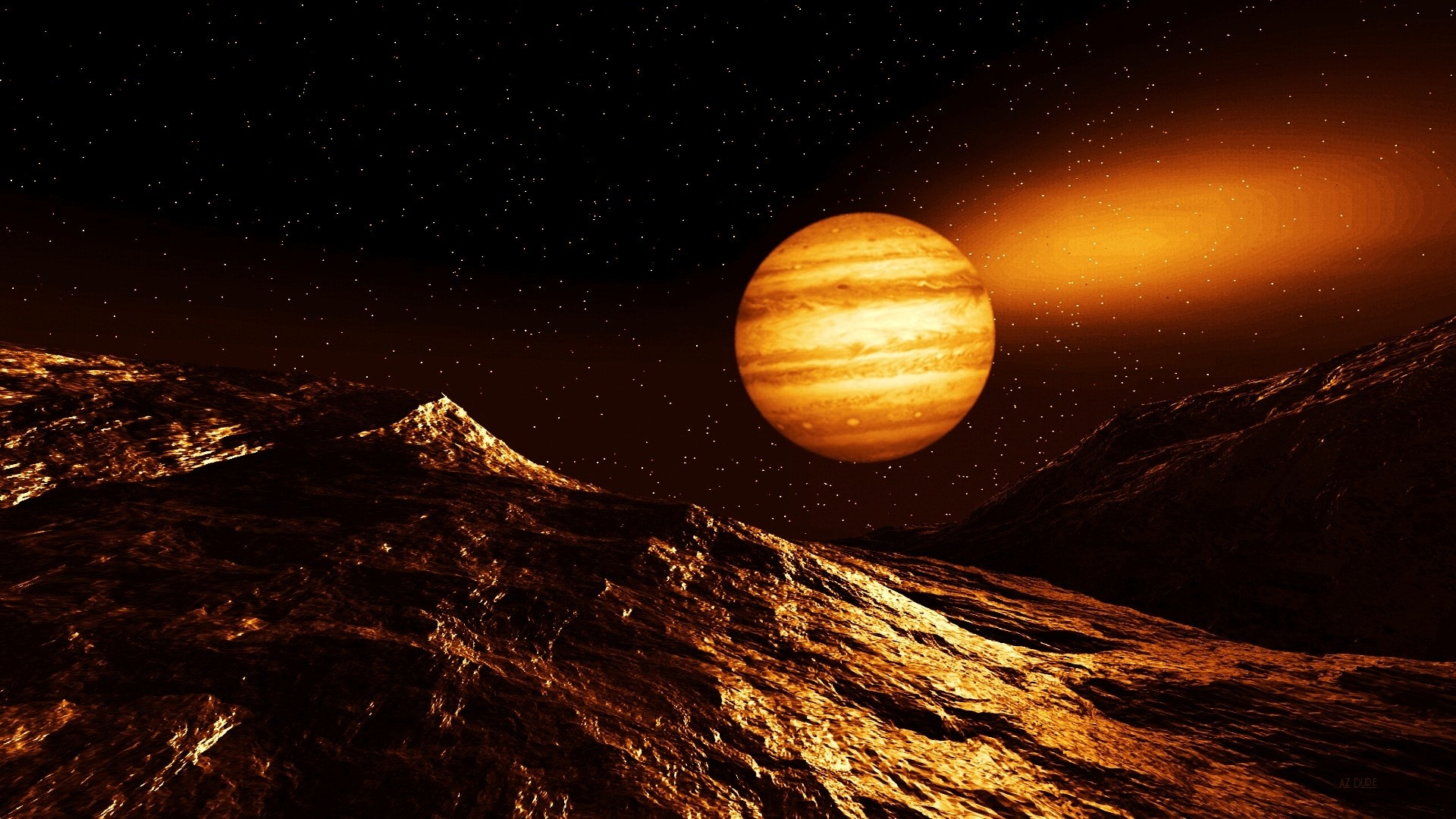 Soarele in conjunctie cu Jupiter