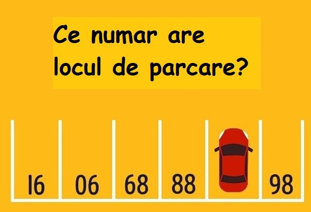 ce numar are parcarea