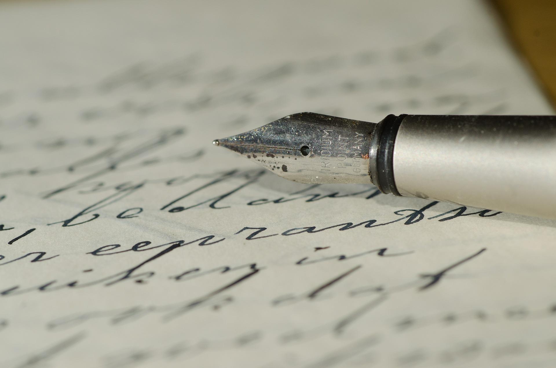scrisoarea unui batran - sfatulparintilor.ro - pixabay_com - fountain-pen-447576_1920